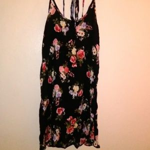 Brandy Melville John Galt 90s floral mini dress